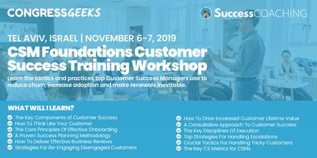 Customer Success Workshop by SuccessHacker tickets