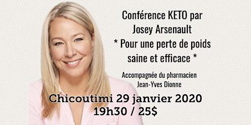 CHICOUTIMI - Conférence KETO - Pour une perte de poids saine et efficace!