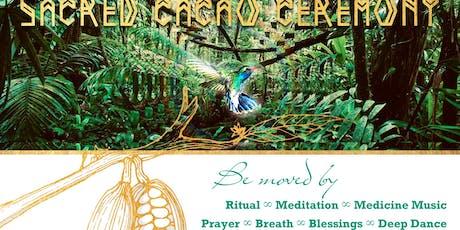 Cacao Ceremony with Los Cosmiqueros tickets