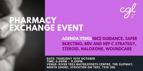 Pharmacy Exchange event Evening tickets