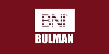 Copy of BNI Bulman - Business Brunch Network Meeting tickets