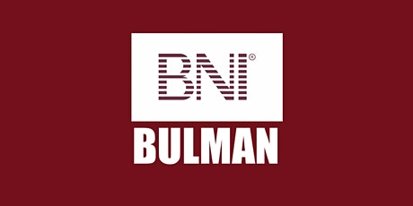 BNI Bulman - Business Brunch Network Meeting tickets