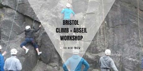 Bristol: Beginner's Climb + Abseil Workshop tickets