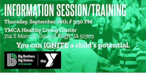 Information Session & Mentor Training - YMCA Healthy Living Center