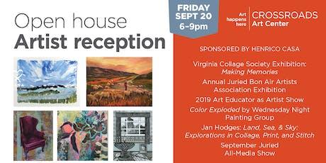 September Open House + Artist Reception  tickets