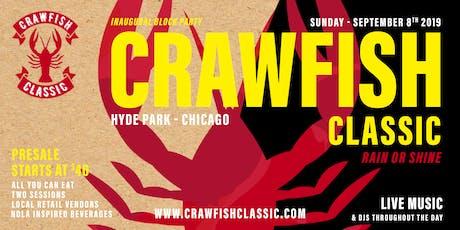 CHICAGO CRAWFISH CLASSIC tickets