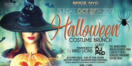 Halloween Costume Brunch | All Women's Event tickets