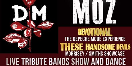 Depeche Mode and Morrissey/ Smiths tribute bands concert and dance tickets