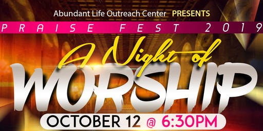 Praise Fest 2019: A Night of Worship