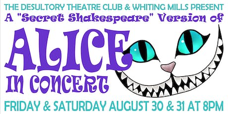 Alice in Concert!! A One of a Kind Alice in Wonderland Musical!! tickets