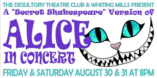 Alice in Concert!! A One of a Kind Alice in Wonderland Musical!!