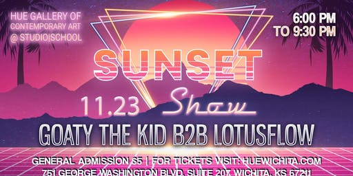 Sunset Show - Goaty the Kid b2b LotusFlow