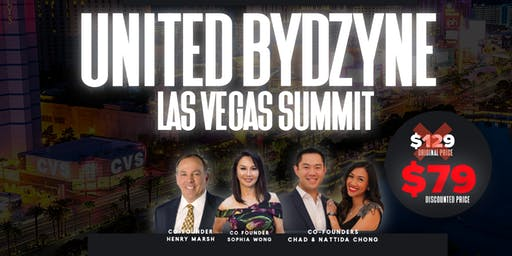 United ByDzyne Las Vegas Leadership Summit Oct 18-19 (Palace Station Hotel)