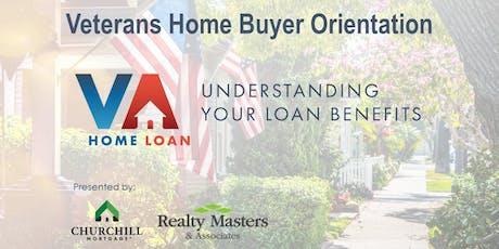Veteran Home Buyer Orientation - Geoff Kautzman and Blanca Arellano Adams tickets