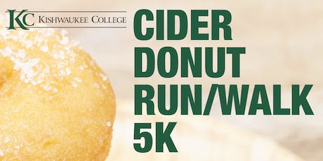 Kishwaukee College Cider Donut Run/Walk 5K tickets