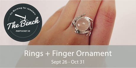 Rings and Finger Ornaments - Jewelry Workshop tickets
