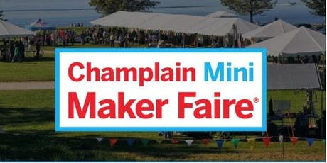 Champlain Maker Faire tickets