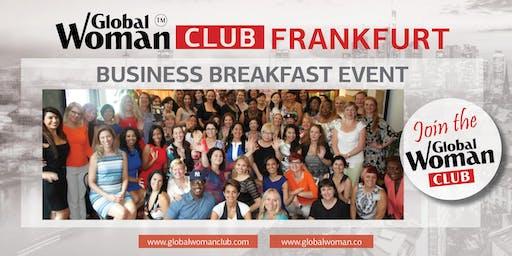 GLOBAL WOMAN CLUB FRANKFURT: BUSINESS NETWORKING BREAKFAST - NOVEMBER
