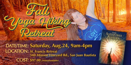 Fall Yoga Hiking Retreat