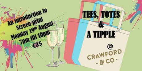Tees, totes and a tipple. tickets