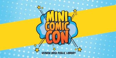 Vernon Area Library Mini Comic Con 2019
