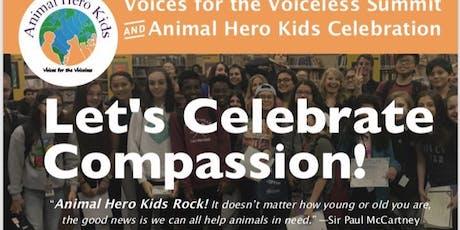 Animal Hero Kids Summit & Celebration November 2, 2019 tickets