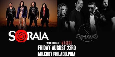 Soraia + Siravo tickets