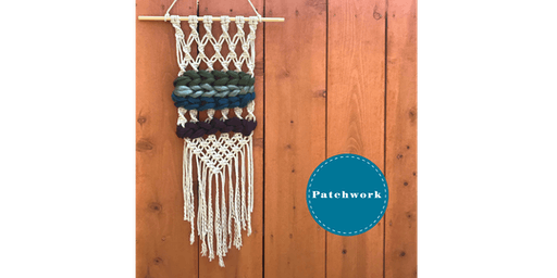 Chunky Yarn Twisted Macrame Wall Hanging Craft Workshop