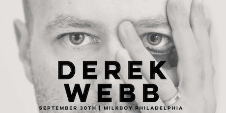Derek Webb tickets