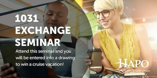 1031 Exchange Seminar