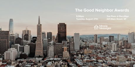 The Good Neighbor Awards tickets