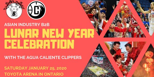 AIB2B Presents Lunar New Year Celebration with the Agua Caliente Clippers