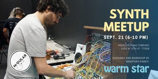 Synthesizer Meetup and Giveaway - Sponsored by Warm Star Electronics!