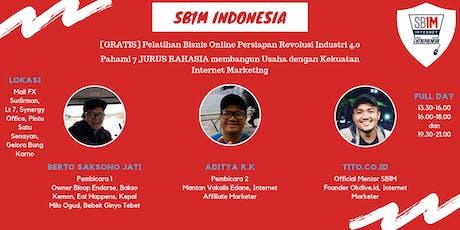 [Gratis] Pelatihan Bisnis Online Persiapan Revolusi Industri 4.0 tickets