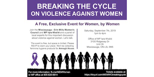 Breaking the Cycle on Violence Against Women