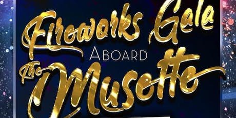 New Year's Eve Fireworks Gala Aboard the Musette Yacht tickets