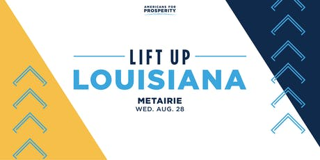 AFPF-LA: Lift Up Louisiana Tax & Budget Reform - Metairie tickets