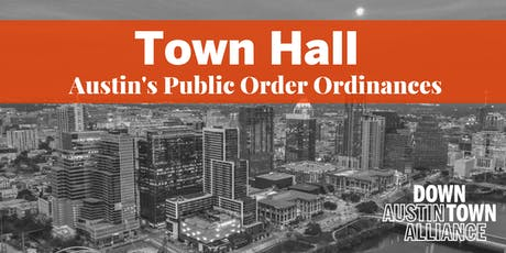 Town Hall on Public Order Ordinances tickets