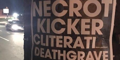 Tankcrimes Takeover of Eli's Necrot Kicker Cliterati Deathgrave tickets