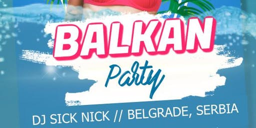 Balkan Party at Rumors with DJ SICK NICK, 08/17 AT 10pm