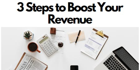 3 Steps to Boost Your Revenue w/ Productivity Coach Elise Enriquez