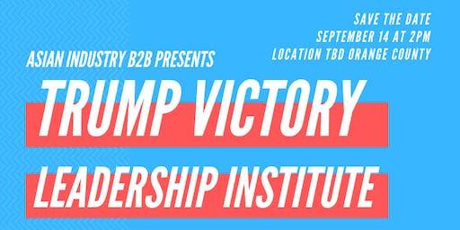 AIB2B Trump Victory Leadership Institute