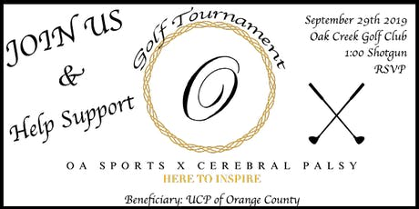 OA Charity Golf Tournament tickets