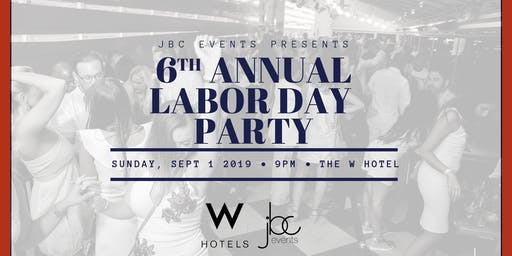 Labor Day Party at The W Hotel
