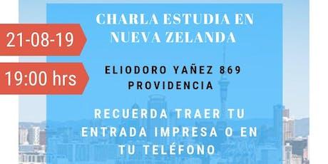 CHARLA ESTUDIA EN NUEVA ZELANDA tickets