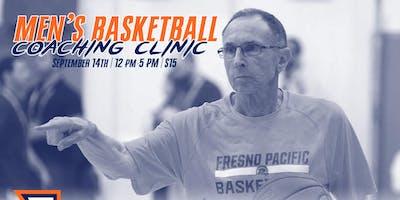 Fresno Pacific Basketball Coaching Clinic