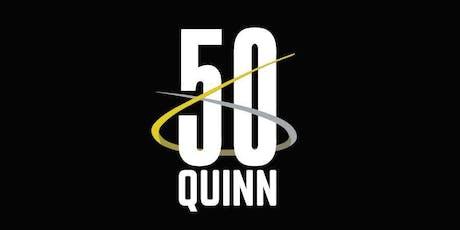 QUINN turns 50 | 80 tickets