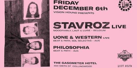Vision Hound presents Stavroz Band Live ++ tickets