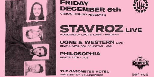 Vision Hound presents Stavroz Band Live ++