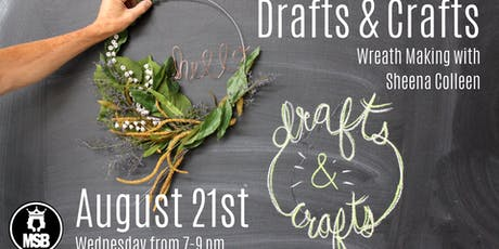 Drafts and Crafts: Modern Wreaths tickets
